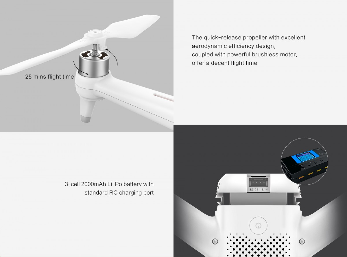 Xiaomi FIMI A3 Propeller and Battery
