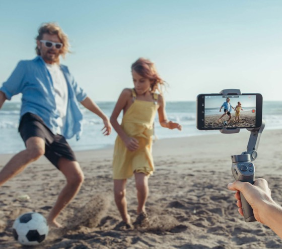 DJI Osmo Mobile 3 im Urlaub