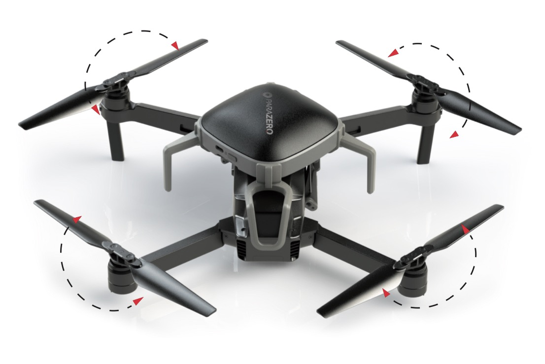 SafeAir-Fallschirm von ParaZero für die DJI Mavic-Serie
