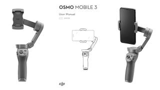 DJI Osmo Mobile 3 | Bedienungsanleitung