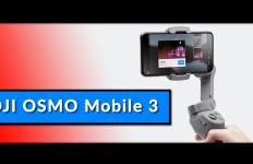 DJI Osmo Mobile 3 Handheld Gimbal Test Vorstellung