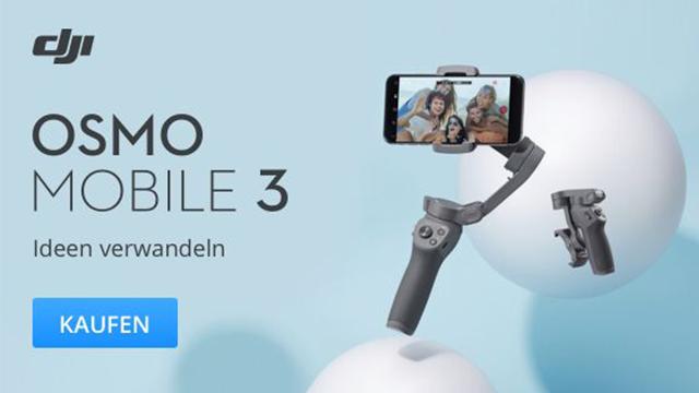 DJI Osmo Mobile 3 vorgestellt