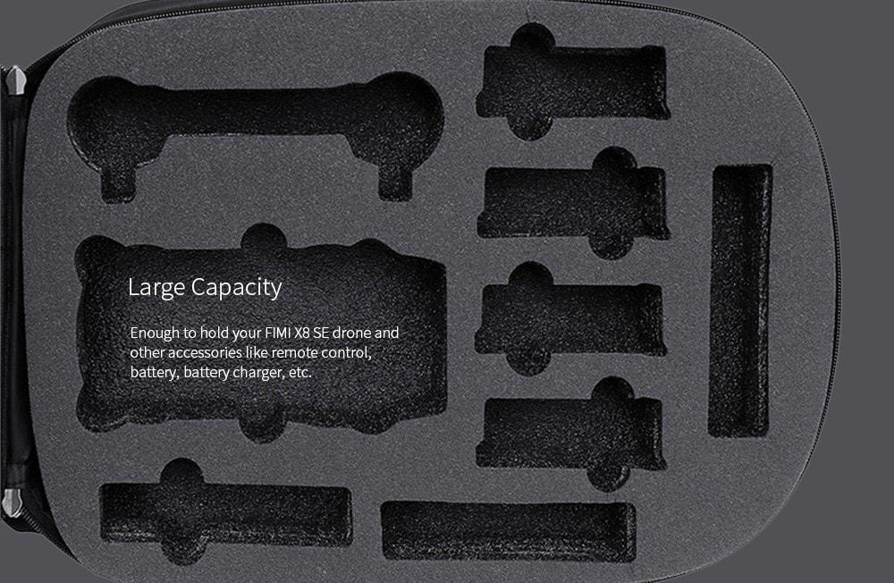 Rucksack / Hardcase für die Xiaomi FIMI X8 SE