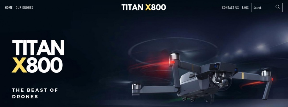 Titan X800 Fake