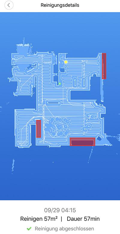 Roborock S5 - Etage und Stockwerke