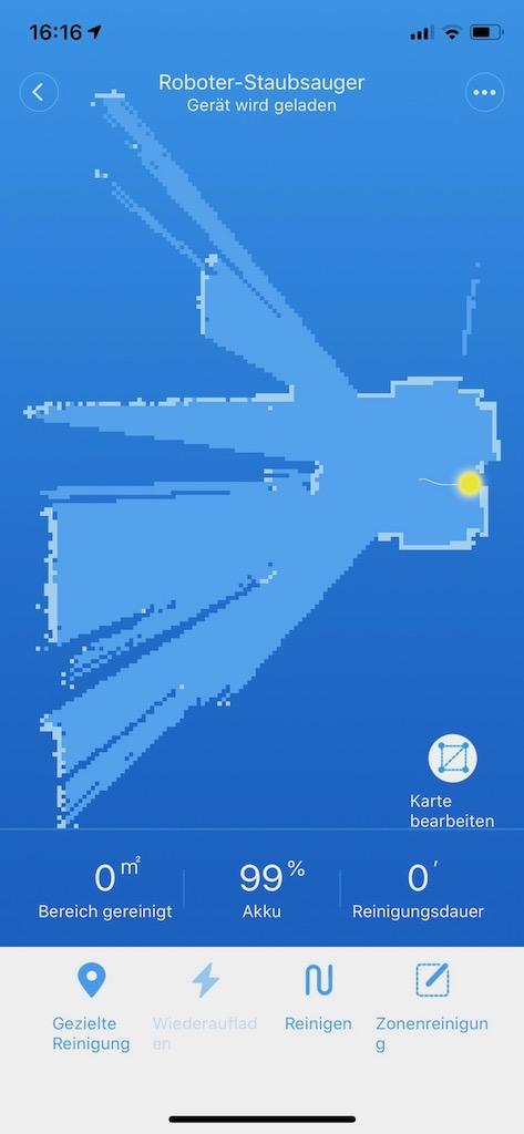 Roborock S5 App-Steuerung Mi Home