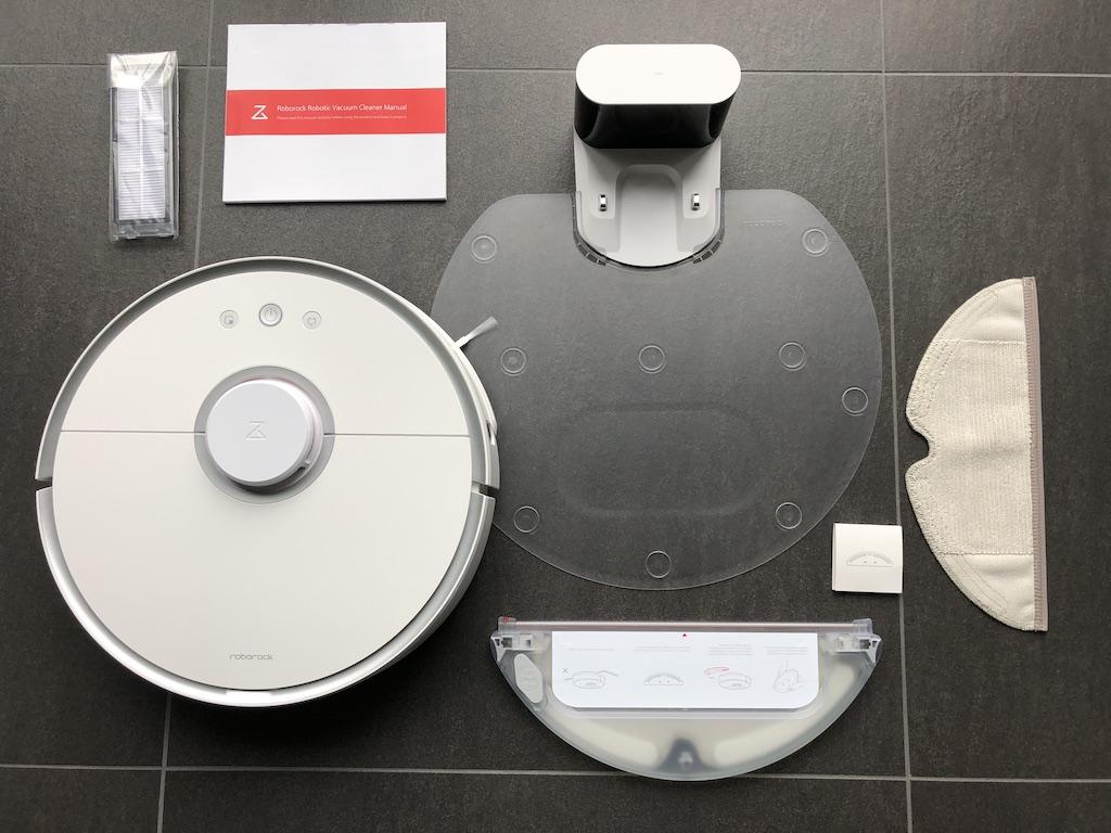 Lieferumfang des Roborock S5 / S50 / S55