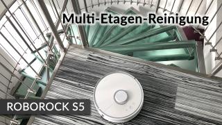Etagen Stockwerke Saugroboter Roborock S5 S50