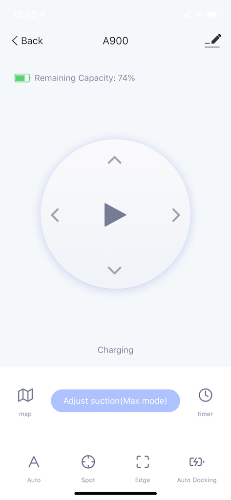 App-Funktionen Amarey A900