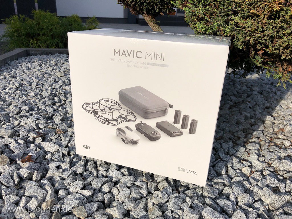 DJI Mavic Mini Combo Box