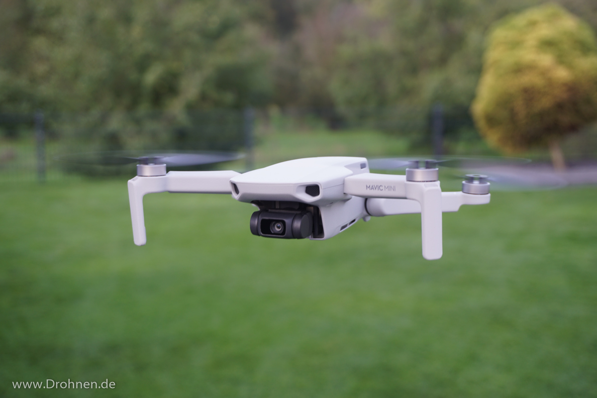 DJI Mavic Mini in der Luft