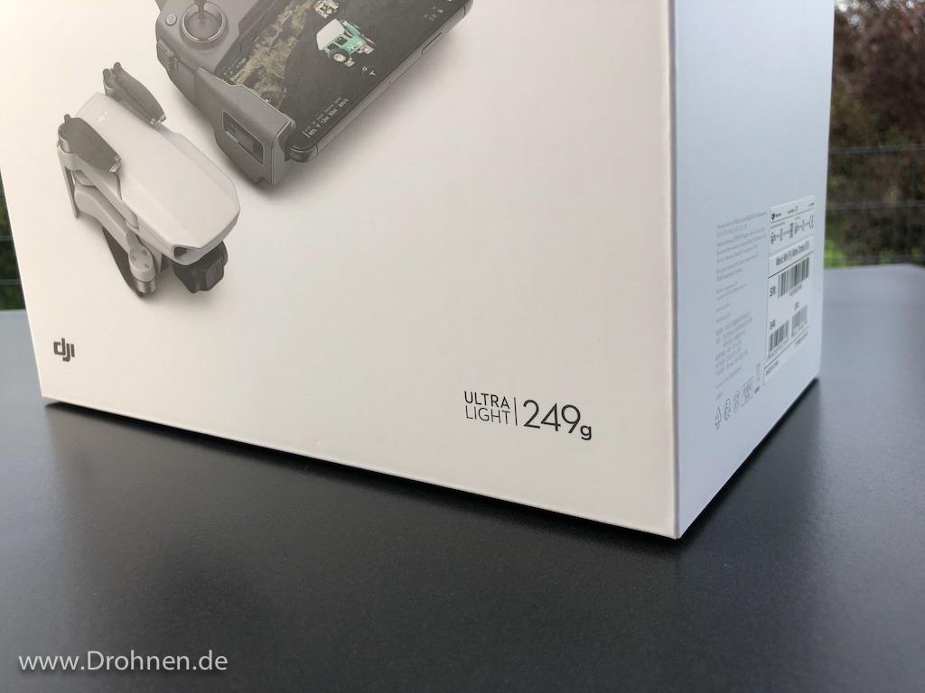 DJI Mavic Mini: Drohne unter 250 Gramm