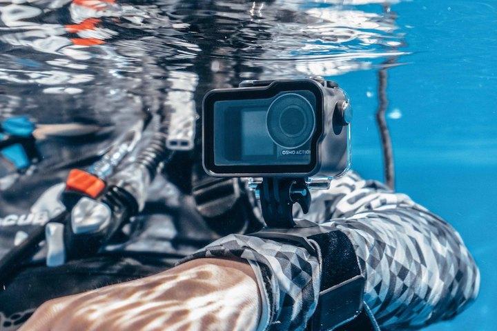 Wasserdichtes Gehäuse für die DJI Osmo Action