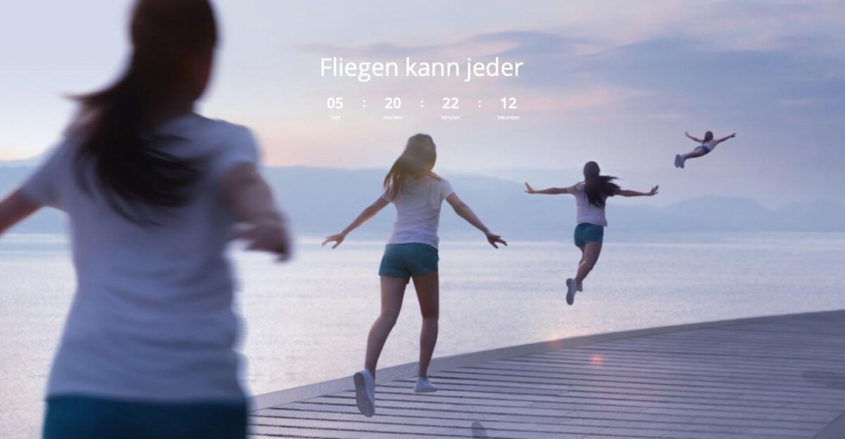 DJI Trailer: Fliegen kann Jeder (Fly As You Are)