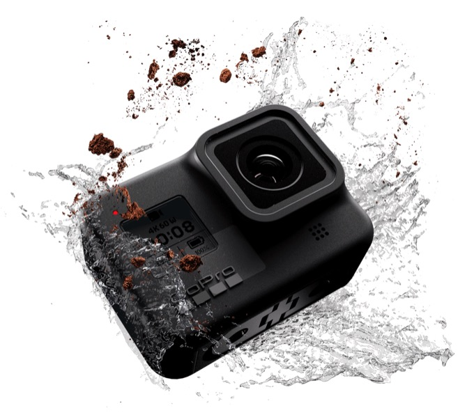 GoPro HERO 8 Black wasserdicht