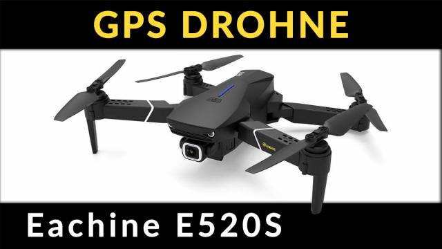 eachine e520s 4k GPS Drohne Test