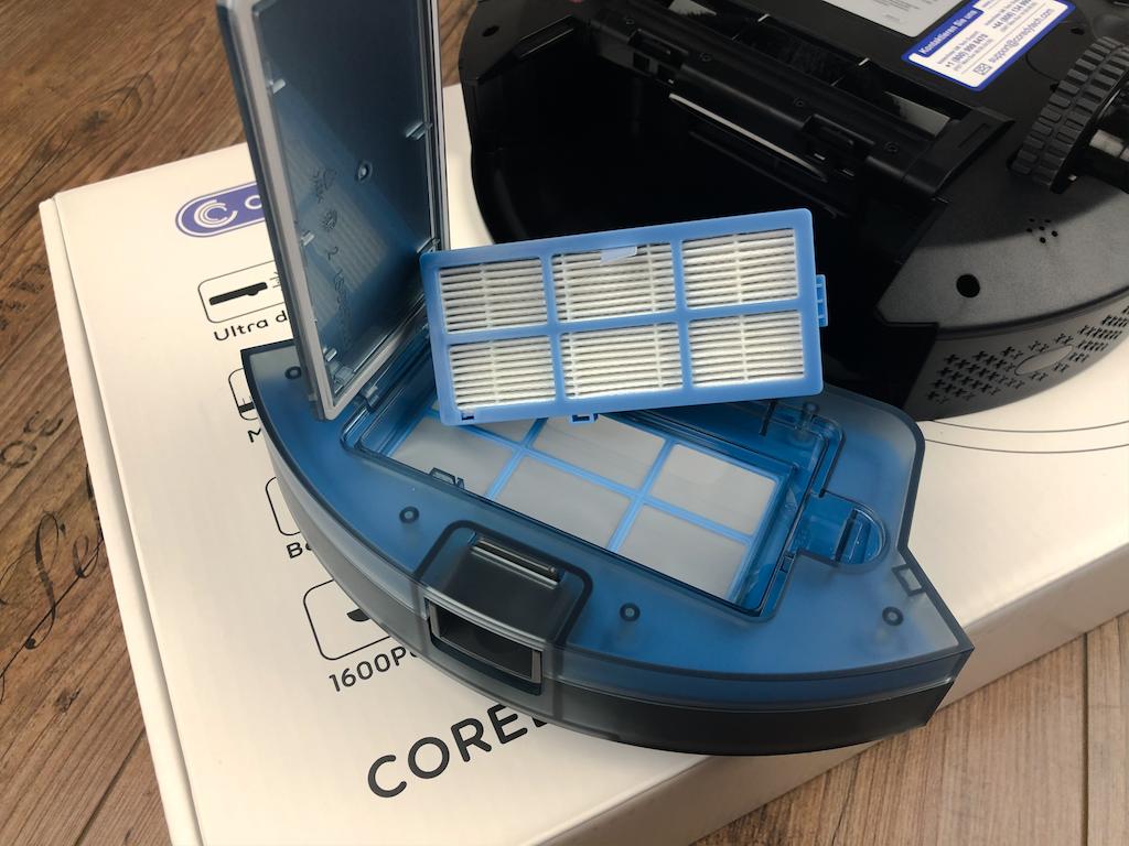 Coredy R650 HEPA filter
