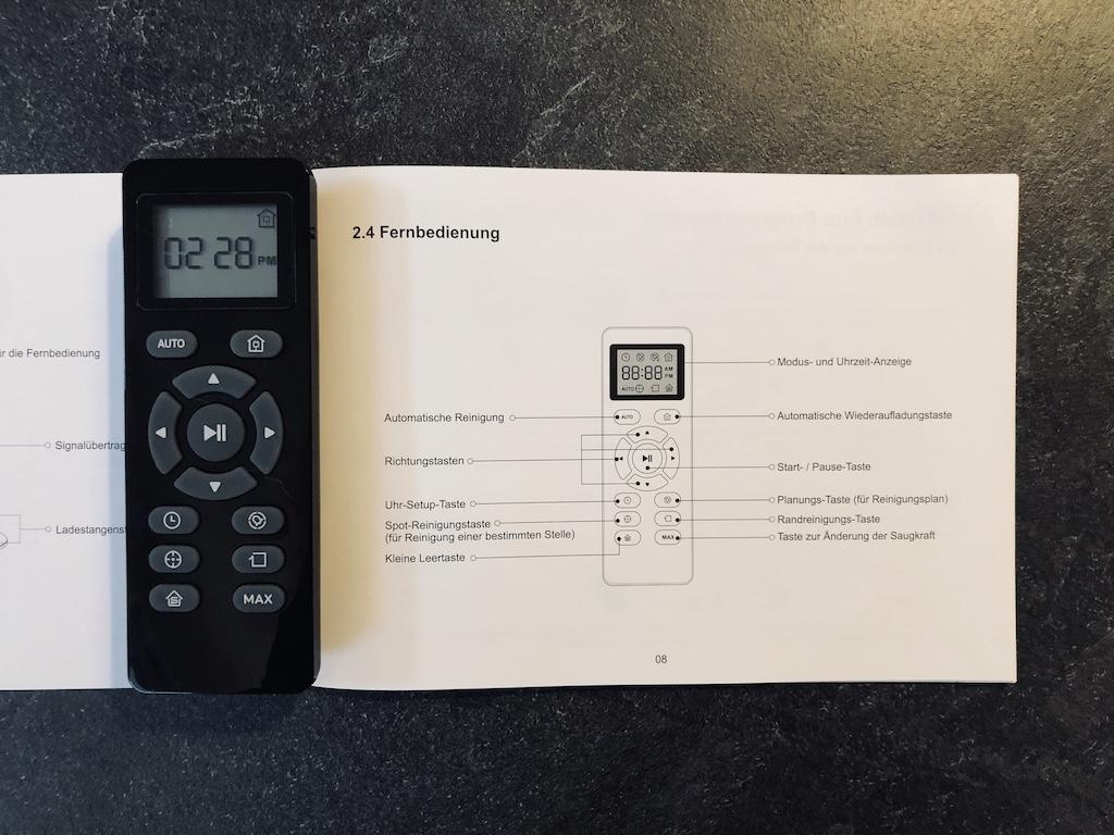 Coredy R650 Fernbedienung