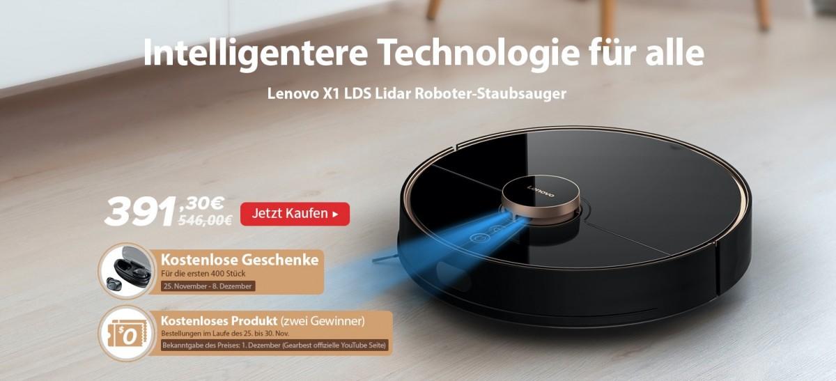 Lenovo X1 Vacuum Cleaner bei Gearbest