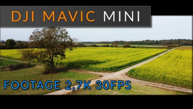 DJI Mavic MINI Footage / Video