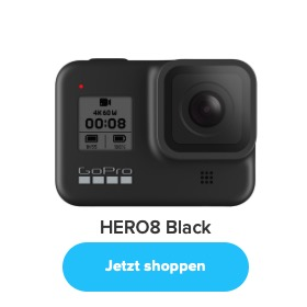 Die GoPro HERO 8 Black.