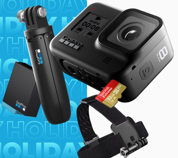 GoPro HERO 8 Holiday Kit Bundle