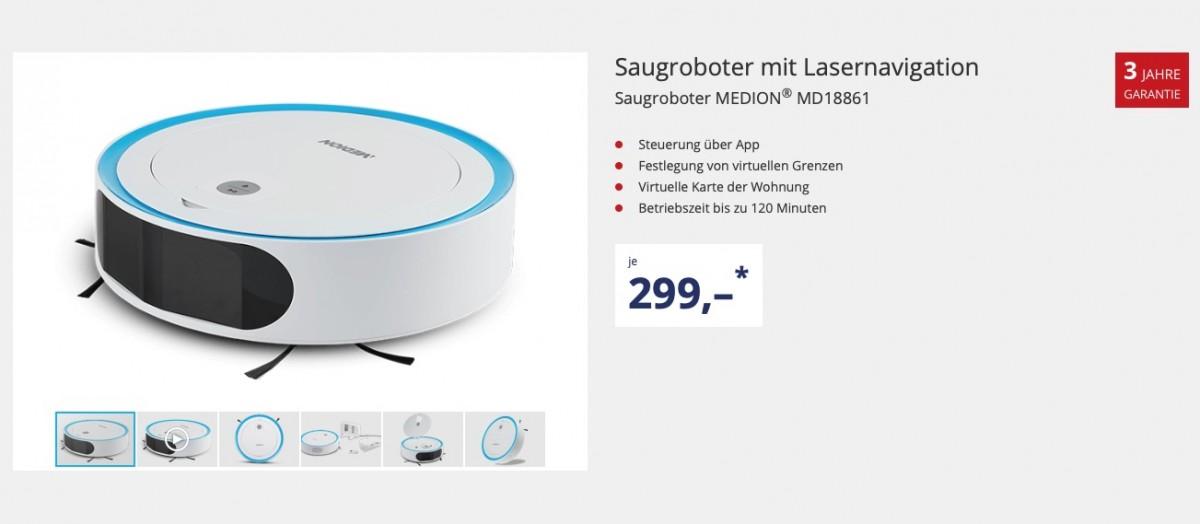 Medion MD 18861 Saugroboter kaufen