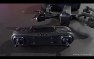 Vergleich Quadrokopter GPS Drohne Maginon QC-90 Aldi Süd - Fernsteuerung