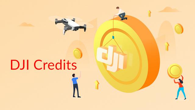 DJI Credits Infos