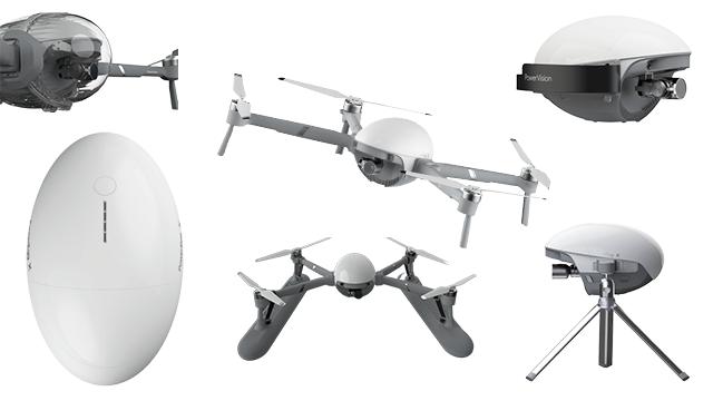 PowerVision PowerEgg X-Drohne