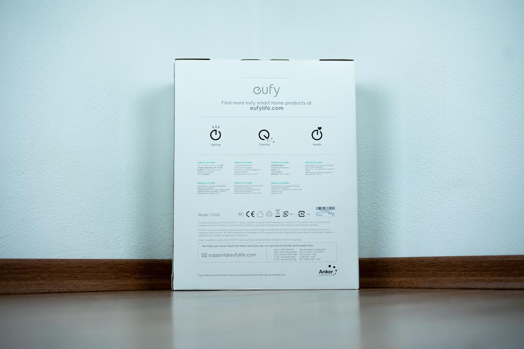 Eufy RoboVac G10 Hybrid Verpackung