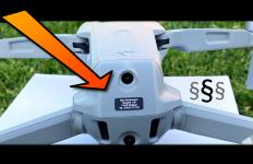 DJI Mavic Air 2 Drohnen Kennzeichen Montage und Versicherung