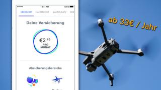 Drohne Versicherung getsafe Haftpflicht