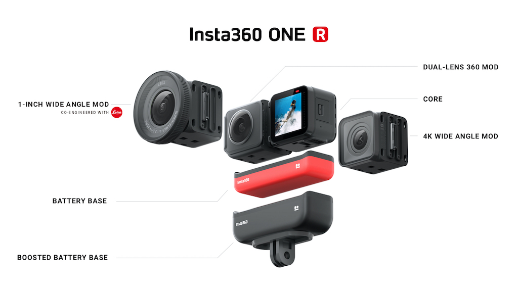 Insta360 One R Mods