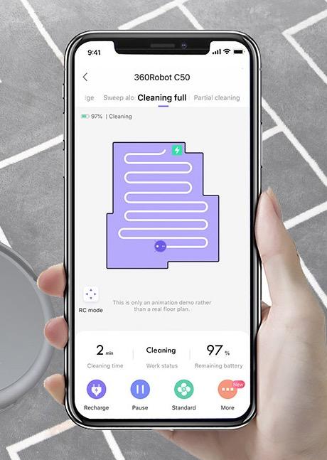 360 C50 Vacuum Cleaner App