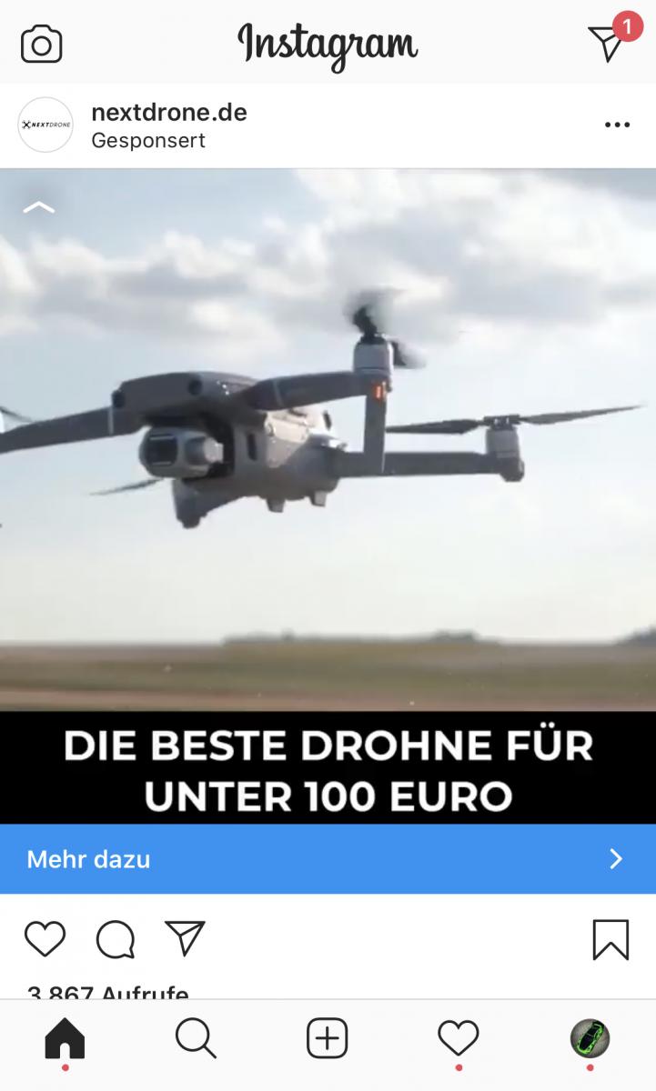 Next Drone 2 E68 Drohne Test 2