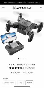 Next Drone MINI Drohne
