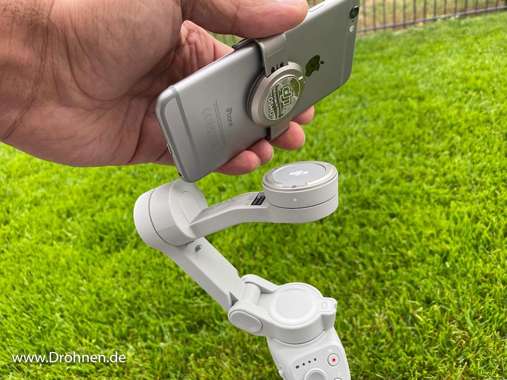DJI OM4 Smartphone-Klammer