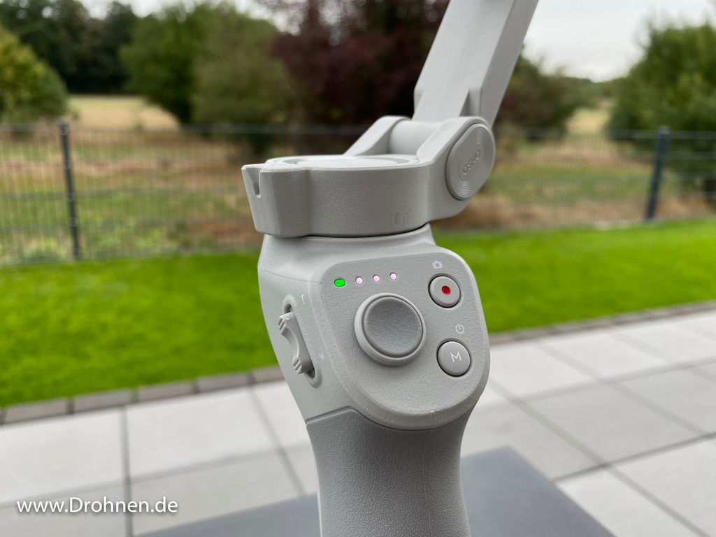 DJI OM4 Bedienung Tasten Button
