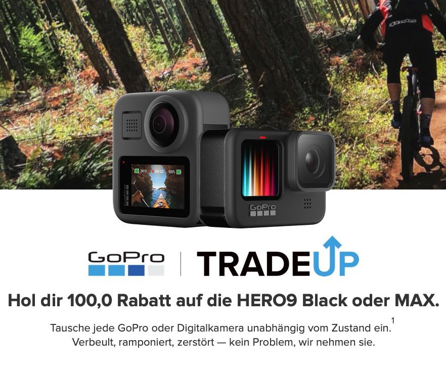 GoPro HERO 9 Black: 100€ Rabatt / günstiger