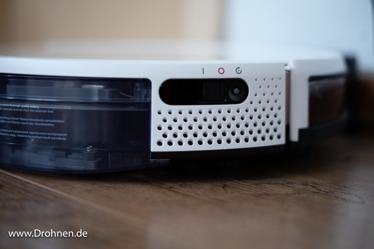 Yeedi K650 Netzschalter