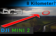 DJI Mavic Mini 2 - reichweite test