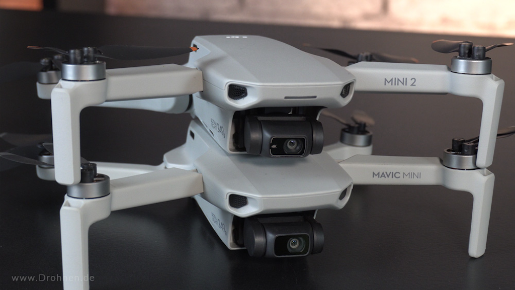 DJI Mini 2 vs. DJI Mavic Mini