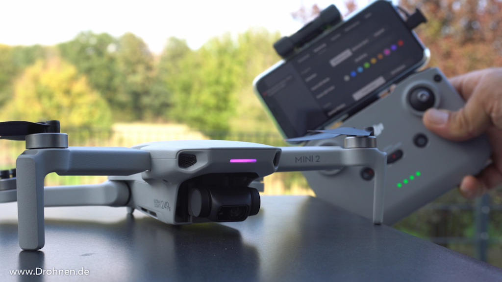 DJI Mini 2 Multicolor-LED