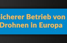 EU-Drohnenverordnung Drohnen Gesetz Deutschland