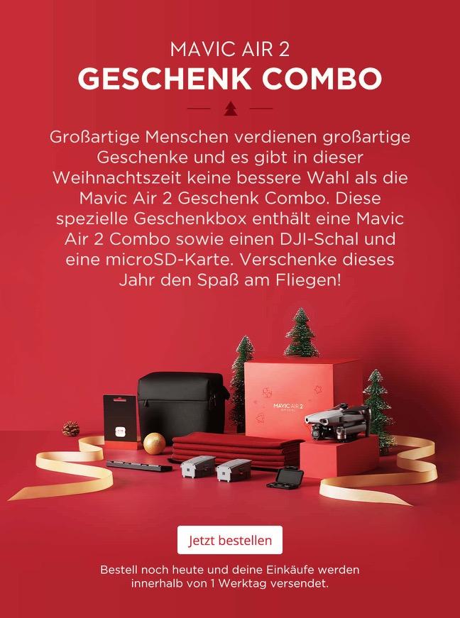 DJI Mavic Air 2 Geschenk-Combo