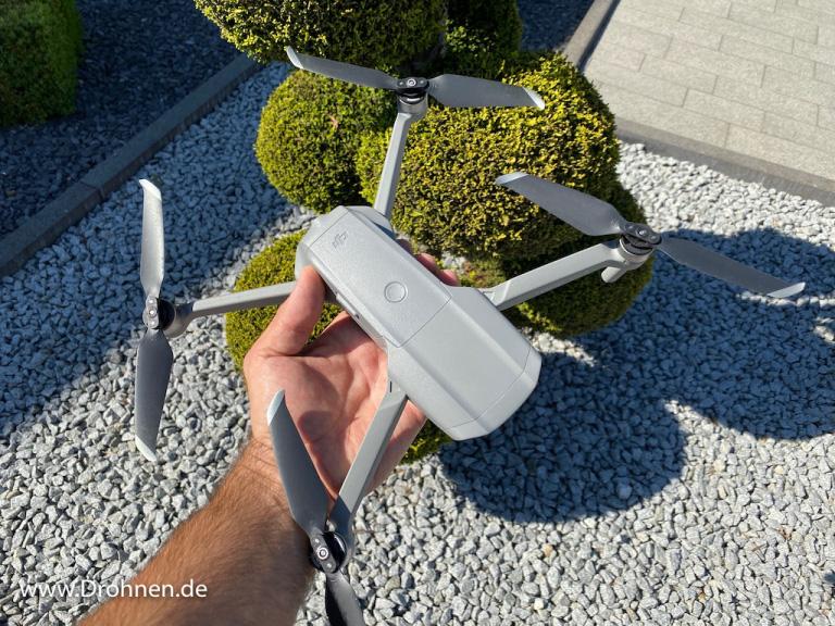 Design der DJI Mavic Air 2