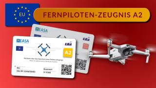 EU Drohnenführerschein A2 Fernpilotenzeugnis Prüfung Training Online