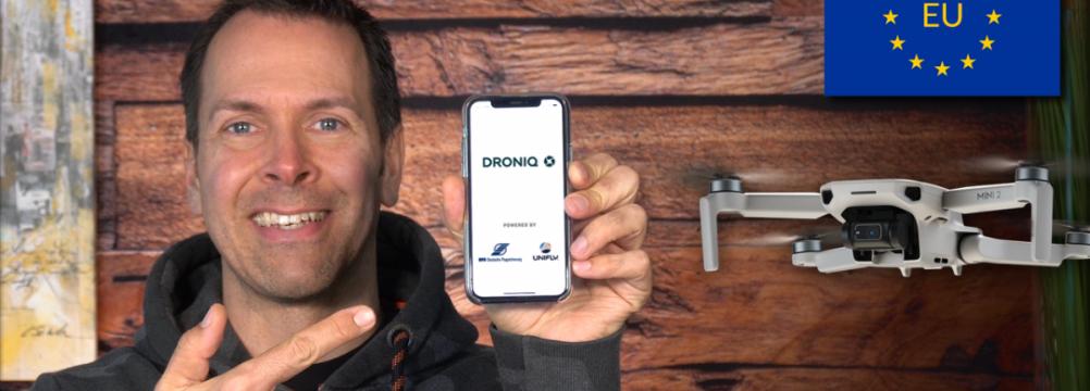 Eu Drohnenverordnung gesetz geo droniq app zonen