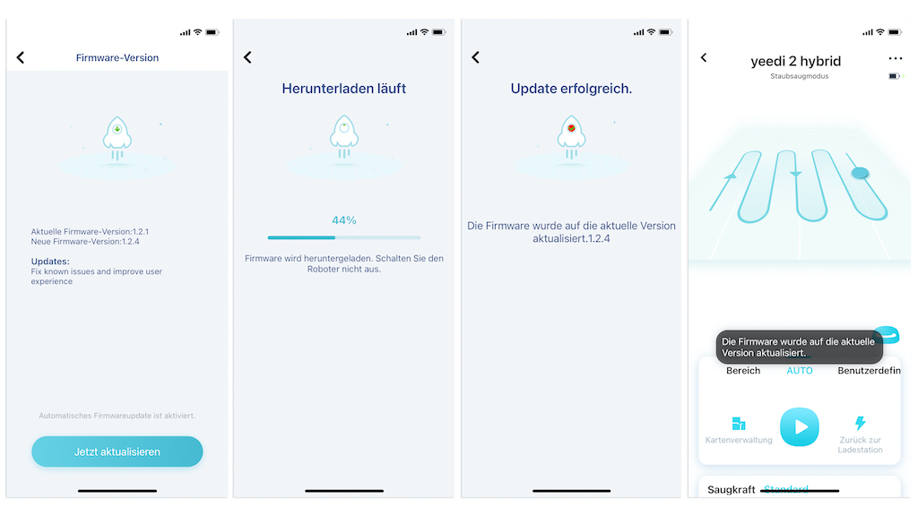 Yeedi 2 Hybrid Update